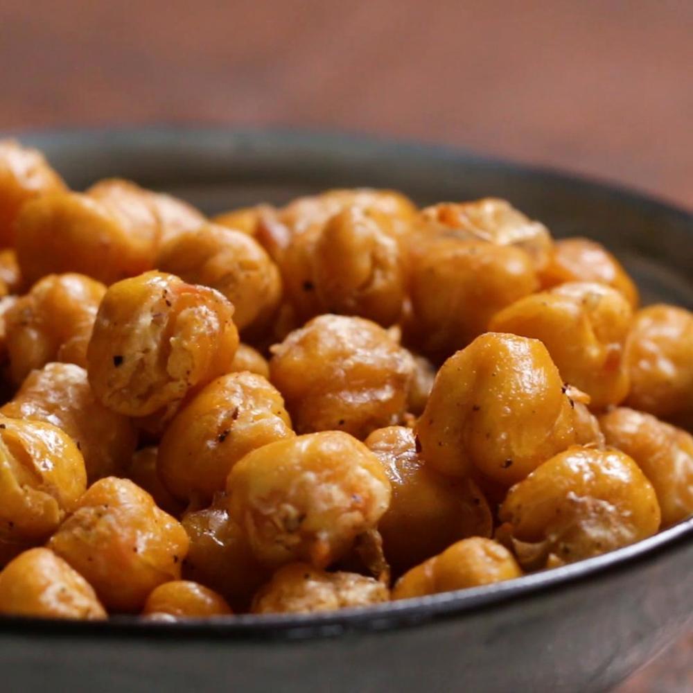 Crispy Spiced Chickpeas Recipe By Tasty Recipe | HeyFood — heyfoodapp.com