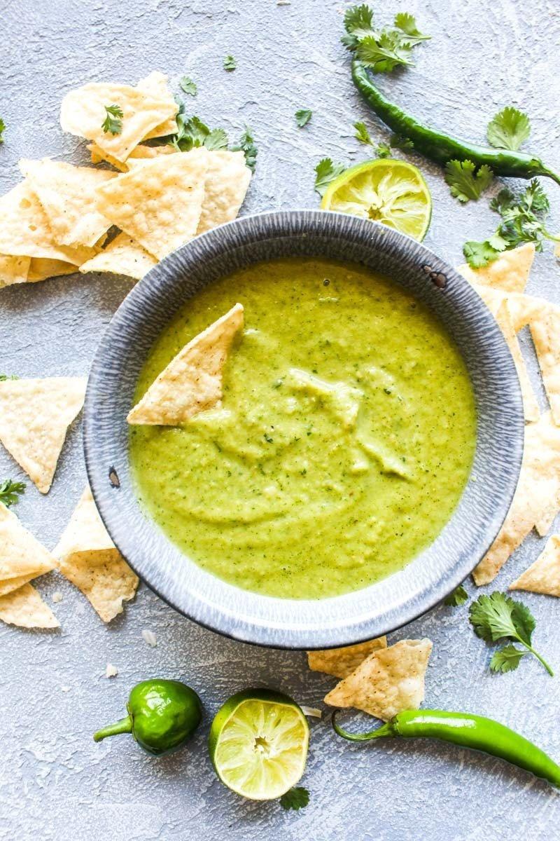 Cilantro Salsa Verde Recipe | HeyFood — heyfoodapp.com