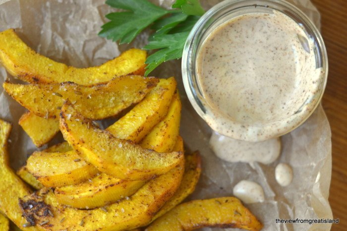 Oven Baked Pumpkin Chipotle Fries Recipe | HeyFood — heyfoodapp.com
