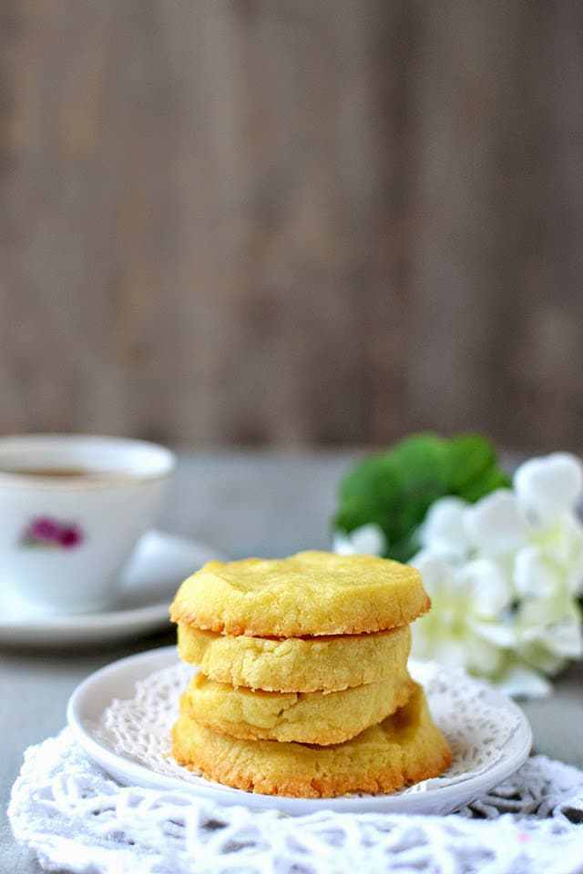 Sablés (Shortbread Cookies) Recipe | HeyFood — heyfoodapp.com