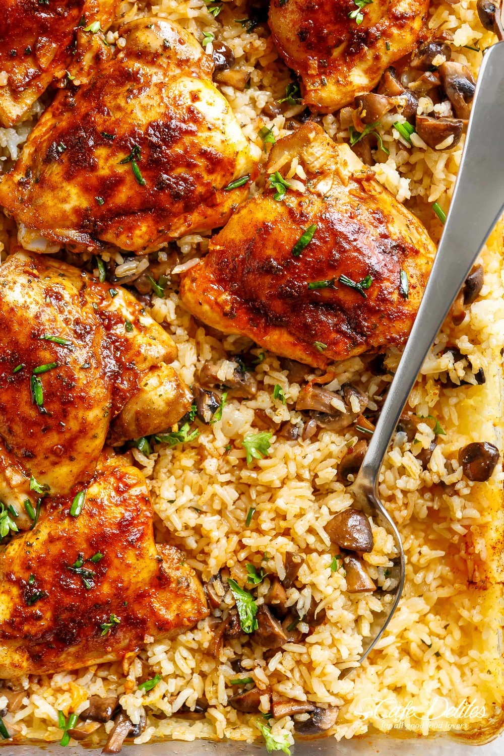 Oven Baked Chicken and Rice Recipe | HeyFood — heyfoodapp.com
