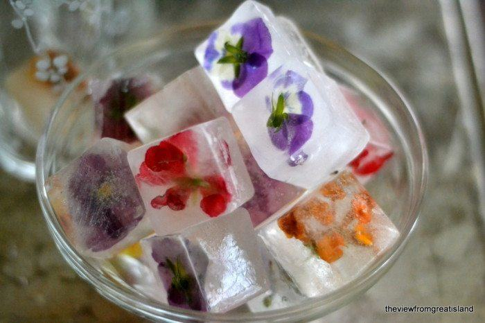 Flower Ice Cubes Recipe | HeyFood — heyfoodapp.com