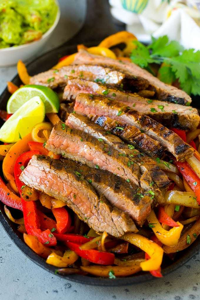 Steak Fajitas Recipe | HeyFood — heyfoodapp.com