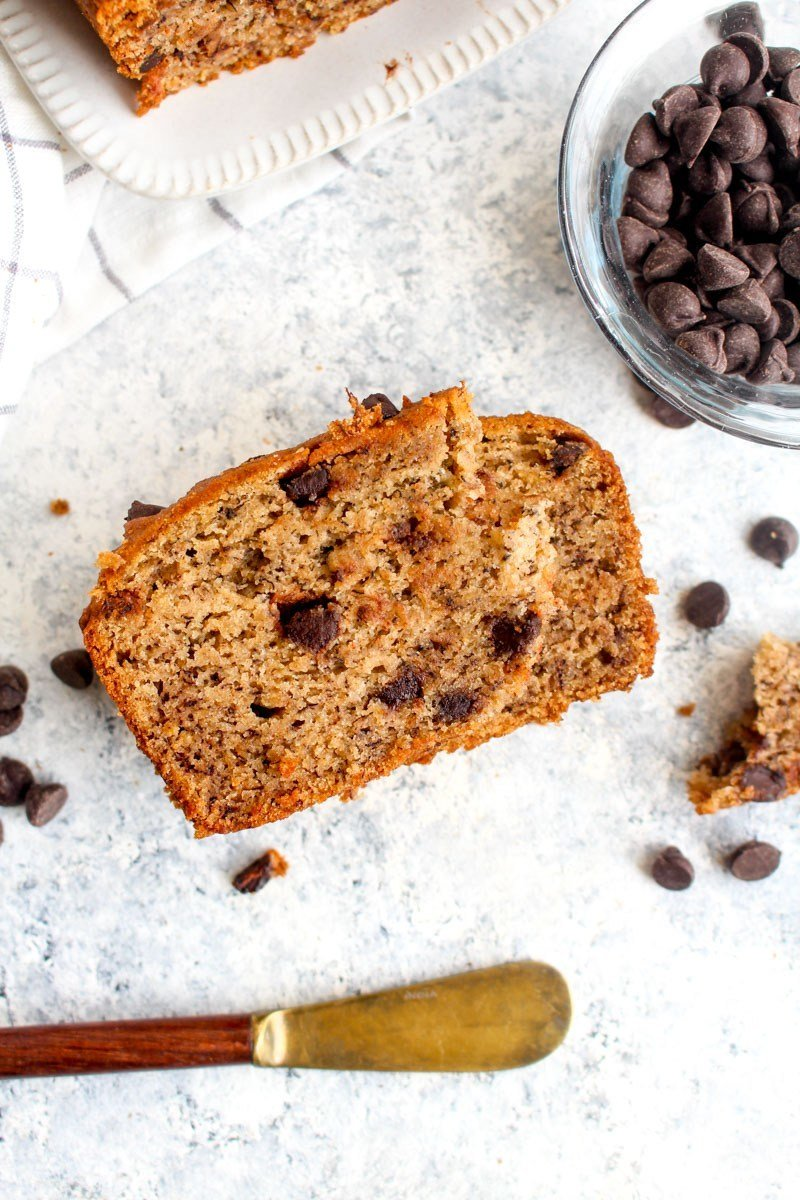 Gluten Free Vegan Chocolate Chip Banana Bread Recipe | HeyFood — heyfoodapp.com