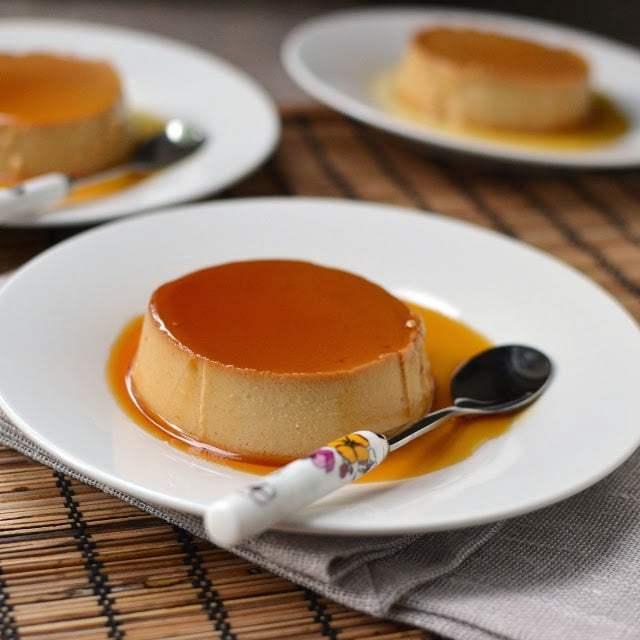 Creme Caramel with Dulche de Leche Recipe | HeyFood — heyfoodapp.com
