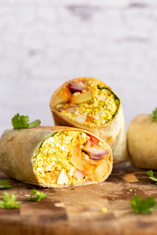 Vegan Breakfast Burrito Recipe Recipe | HeyFood — heyfoodapp.com