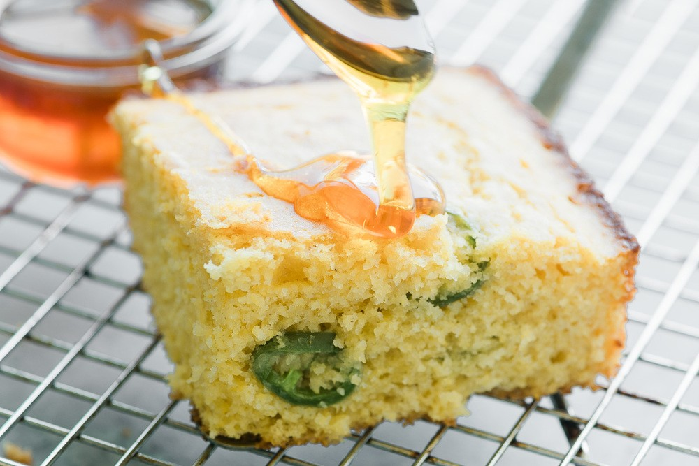 Honey Jalapeño Cornbread Recipe | HeyFood — heyfoodapp.com