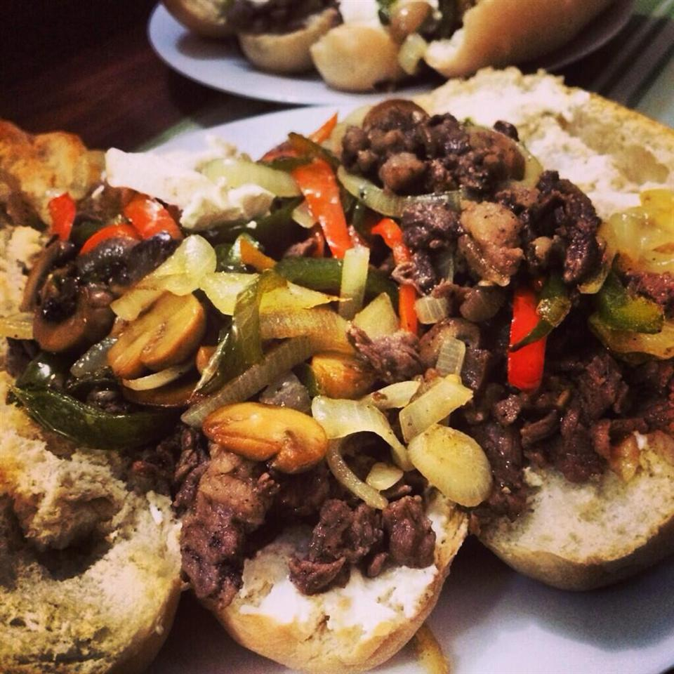 Philly Steak Sandwich Recipe | HeyFood — heyfoodapp.com