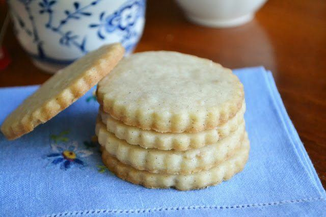 Vanilla Bean Shortbread Tea Cookies Recipe | HeyFood — heyfoodapp.com