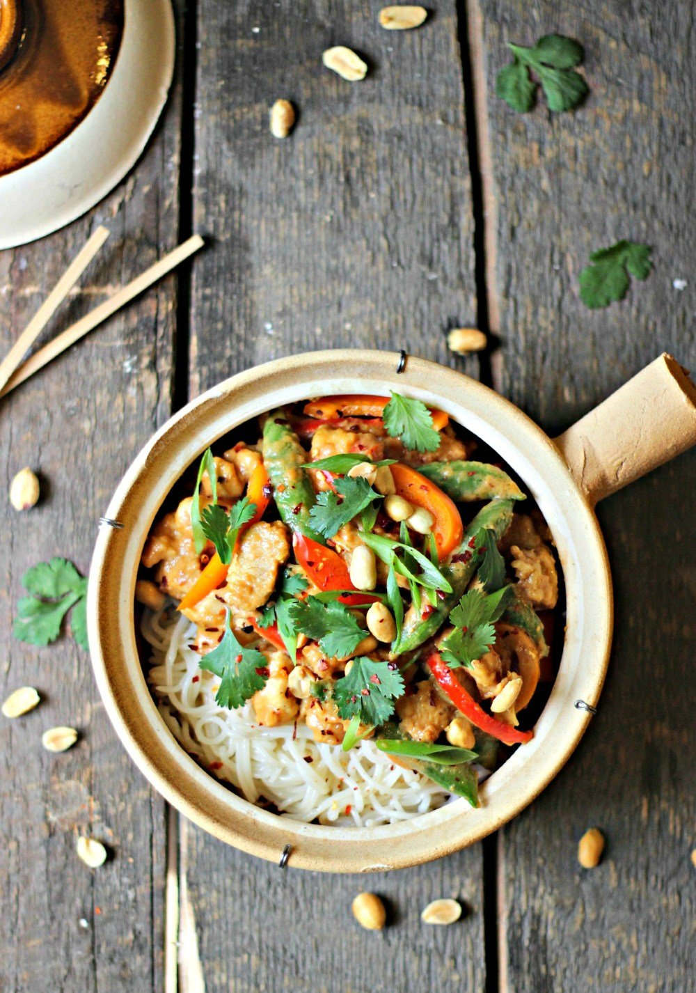 Kung Pao Peanut Chicken Stir Fry Recipe | HeyFood — heyfoodapp.com