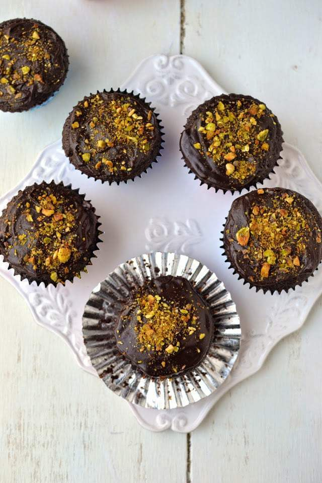 Chocolate Buttermilk Cupcakes Recipe   HeyFood — heyfoodapp.com