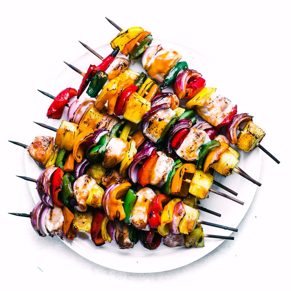 Sweet Fire Chicken Skewers Recipe | HeyFood — heyfoodapp.com