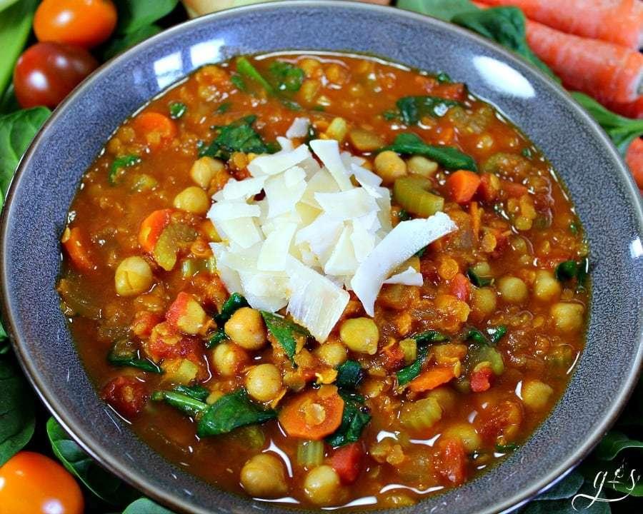 Moroccan-Inspired Chickpea Stew Recipe | HeyFood — heyfoodapp.com