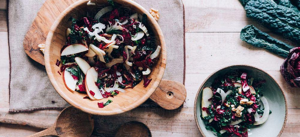 Kale And KORU Apple Salad Recipe | HeyFood — heyfoodapp.com