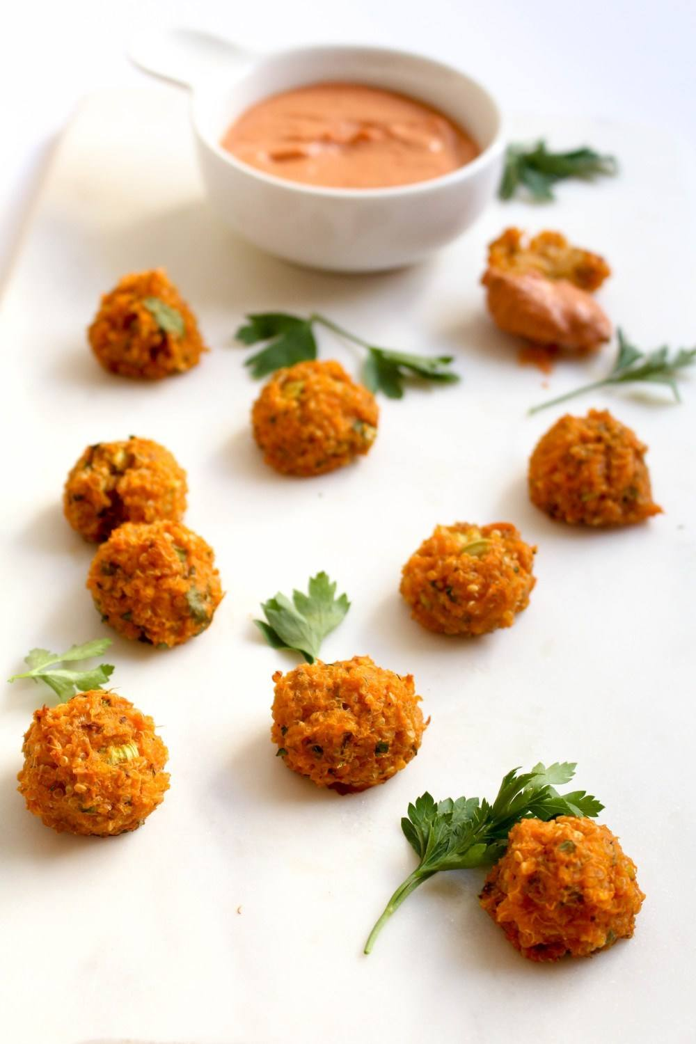 Sweet Potato Quinoa Croquettes Recipe | HeyFood — heyfoodapp.com