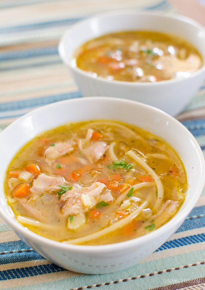 Chicken Noodle Soup Recipe | HeyFood — heyfoodapp.com