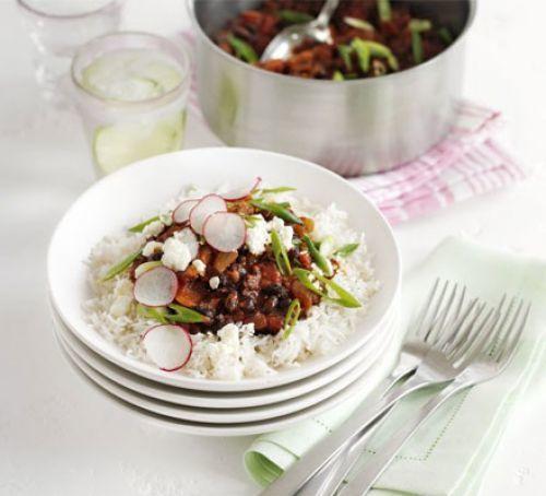 Black Bean Chilli Recipe | HeyFood — heyfoodapp.com