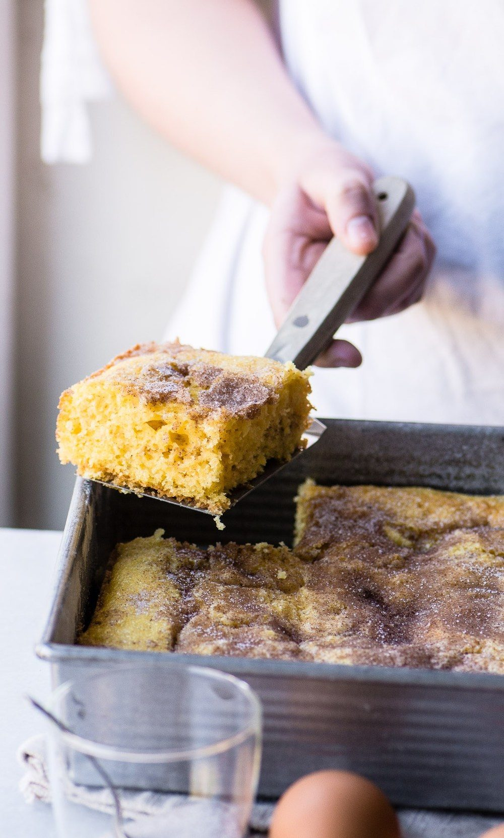 Super Easy Cinnamon Coffee Cake Recipe | HeyFood — heyfoodapp.com