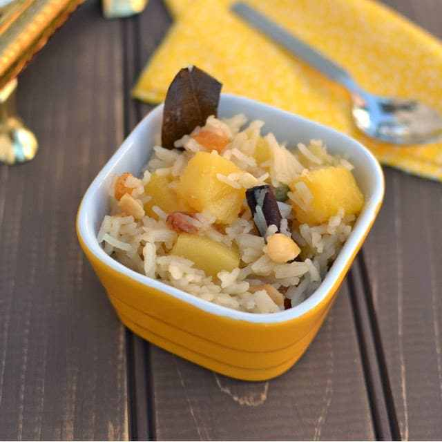 Pineapple Sweet Pulao Recipe | HeyFood — heyfoodapp.com