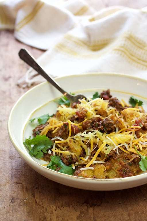 Spaghetti Squash Fideos Recipe | HeyFood — heyfoodapp.com