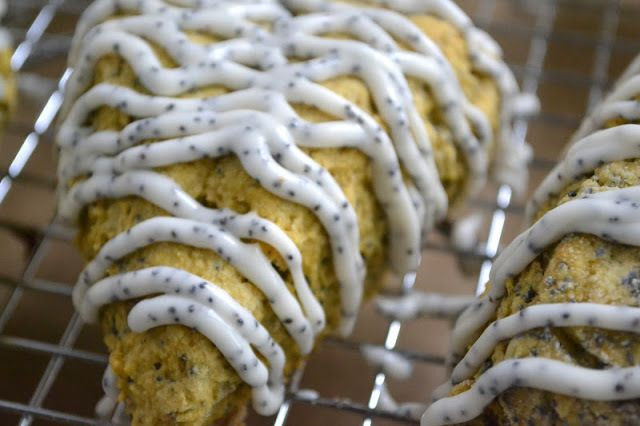 Pumpkin Poppy Seed Scones Recipe | HeyFood — heyfoodapp.com