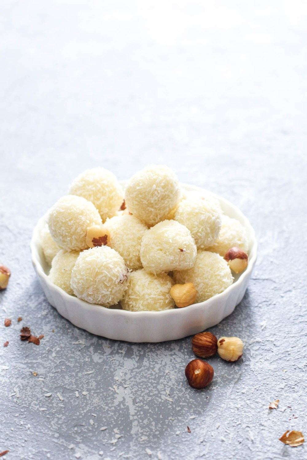 White Chocolate Hazelnut Truffles Recipe | HeyFood — heyfoodapp.com