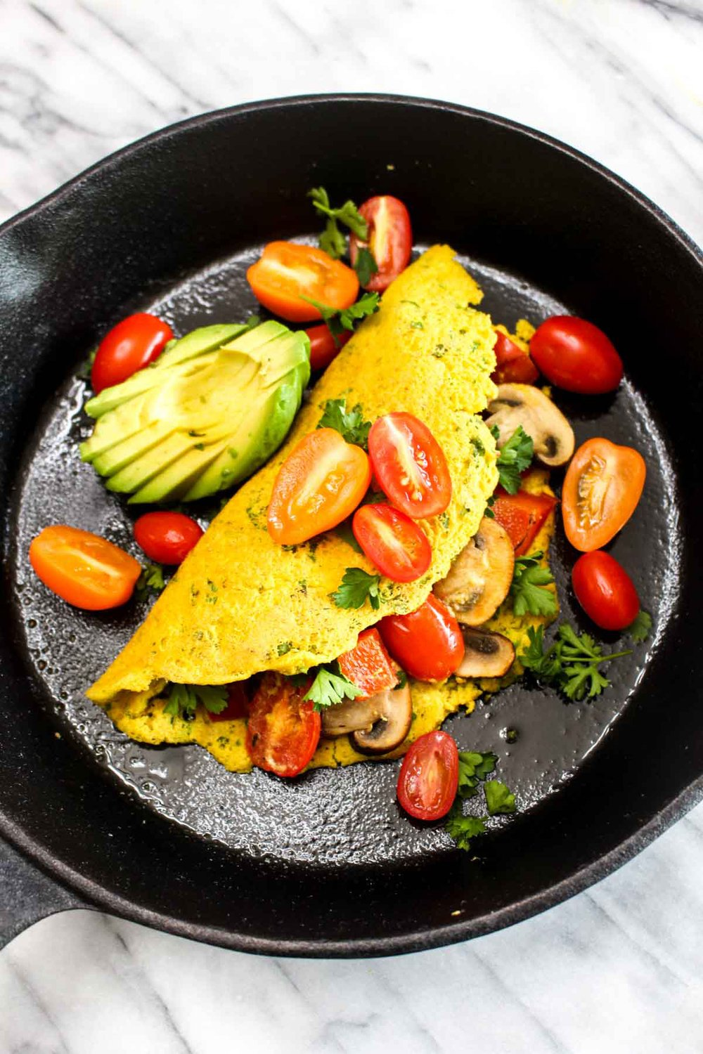 Best Ever Vegan Omelet Recipe | HeyFood — heyfoodapp.com