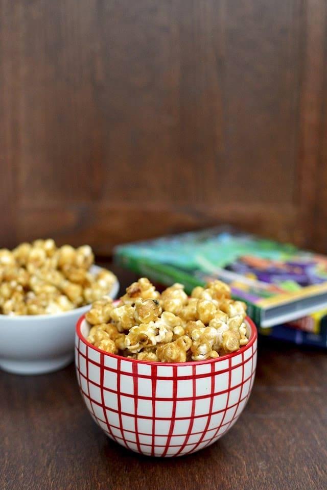 Salted Caramel Popcorn Recipe | HeyFood — heyfoodapp.com