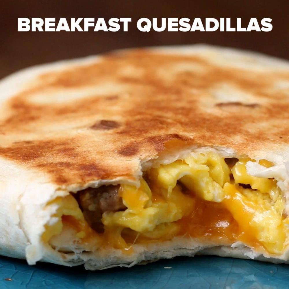 Make-Ahead Breakfast Quesadilla Recipe By Tasty Recipe | HeyFood — heyfoodapp.com