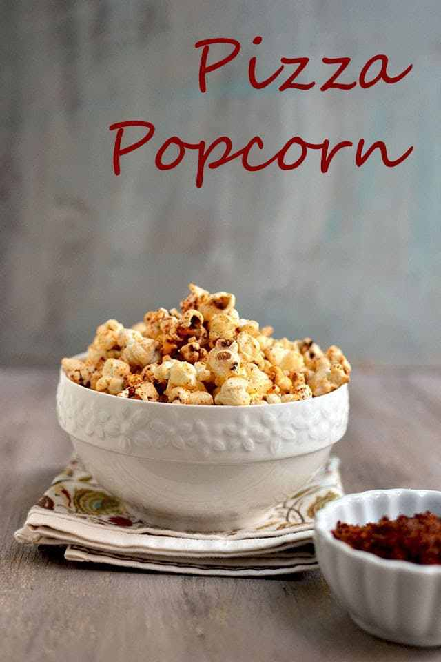 Pizza Popcorn Recipe | HeyFood — heyfoodapp.com