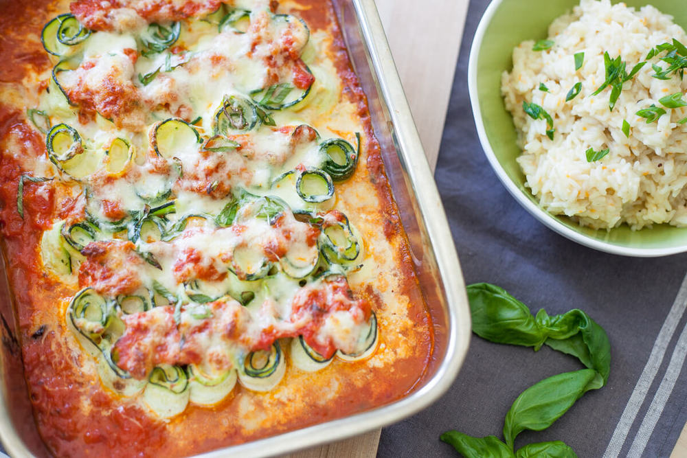 Zucchini Lasagna Rolls Recipe | HeyFood — heyfoodapp.com