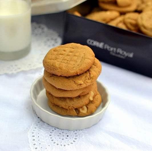 Peanut Butter Cookies Recipe   HeyFood — heyfoodapp.com