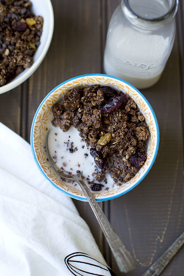 Chocolate Granola Recipe | HeyFood — heyfoodapp.com