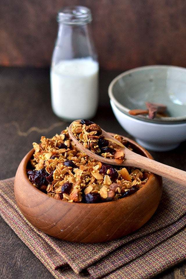 Toasted Millet & Oats Granola Recipe | HeyFood — heyfoodapp.com