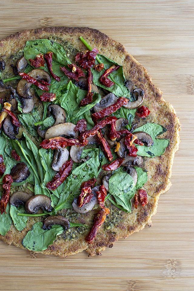 Cauliflower Crust Pizza Recipe | HeyFood — heyfoodapp.com