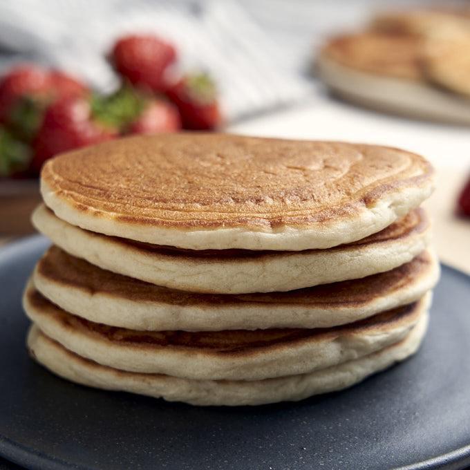 Eggless Pancakes Recipe | HeyFood — heyfoodapp.com
