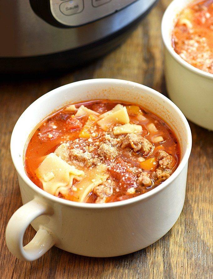 Instant Pot Lasagna Soup Recipe | HeyFood — heyfoodapp.com