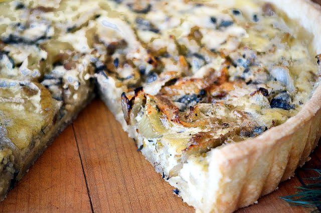 Fennel and Roquefort Tart Recipe | HeyFood — heyfoodapp.com