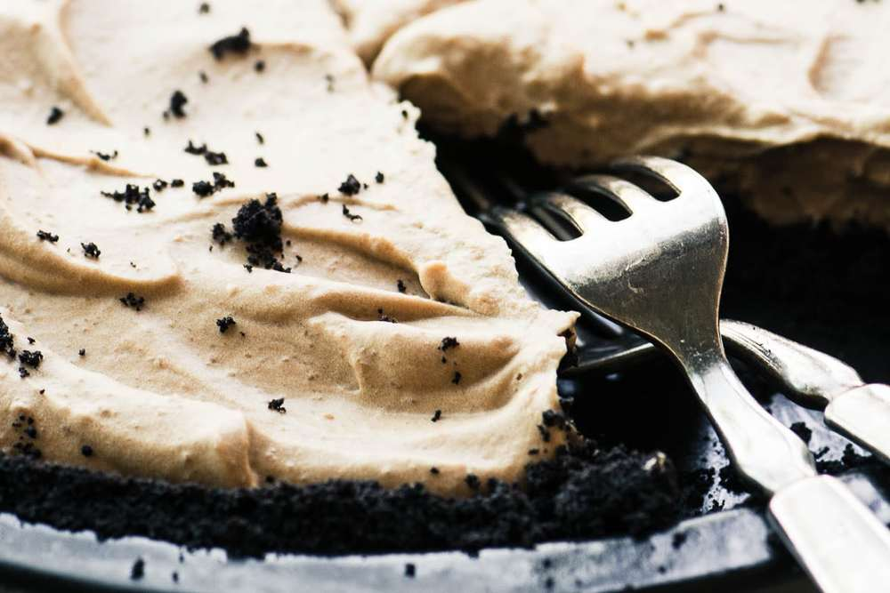 Cold Brew Icebox Pie Recipe | HeyFood — heyfoodapp.com