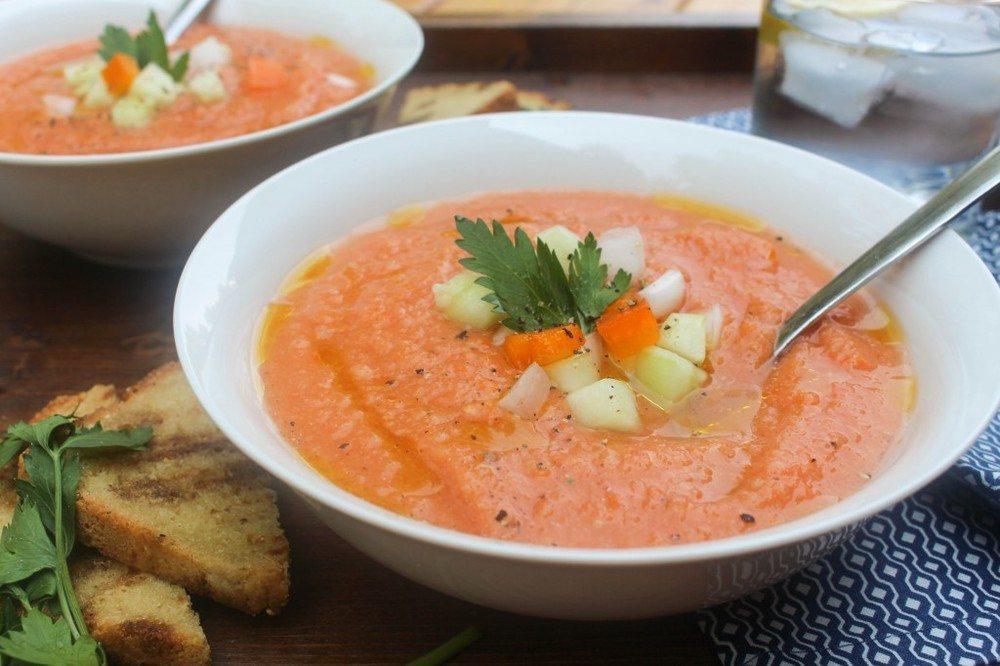 Gazpacho Recipe   HeyFood — heyfoodapp.com