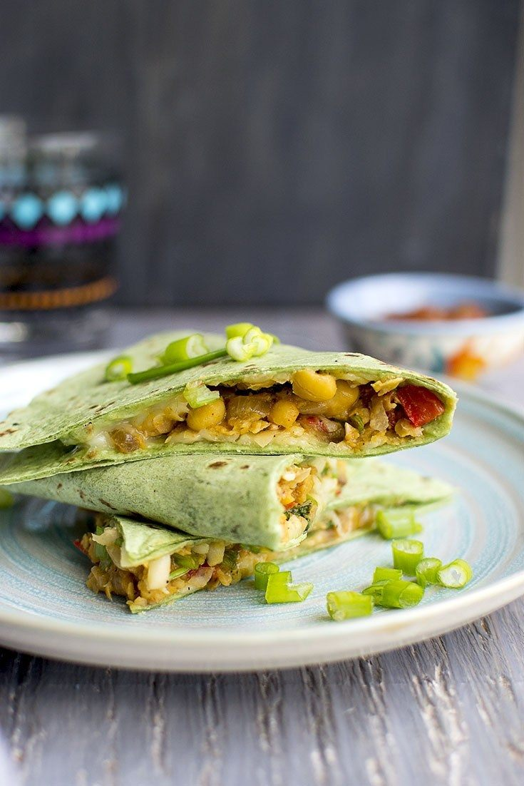 Chickpea Quesadilla Recipe | HeyFood — heyfoodapp.com