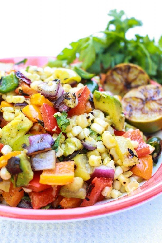 Grilled Fiesta Salad Recipe | HeyFood — heyfoodapp.com