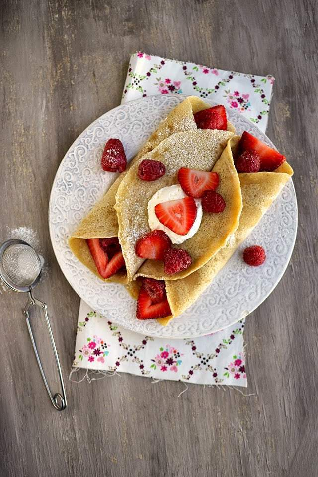 Parsi Style Crepes (Chapat) Recipe | HeyFood — heyfoodapp.com