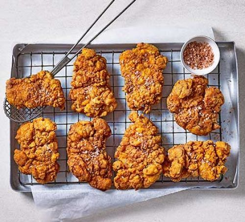 Next Level Fried Chicken Recipe | HeyFood — heyfoodapp.com