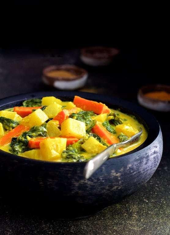 Indian Root Vegetable Curry Recipe | HeyFood — heyfoodapp.com