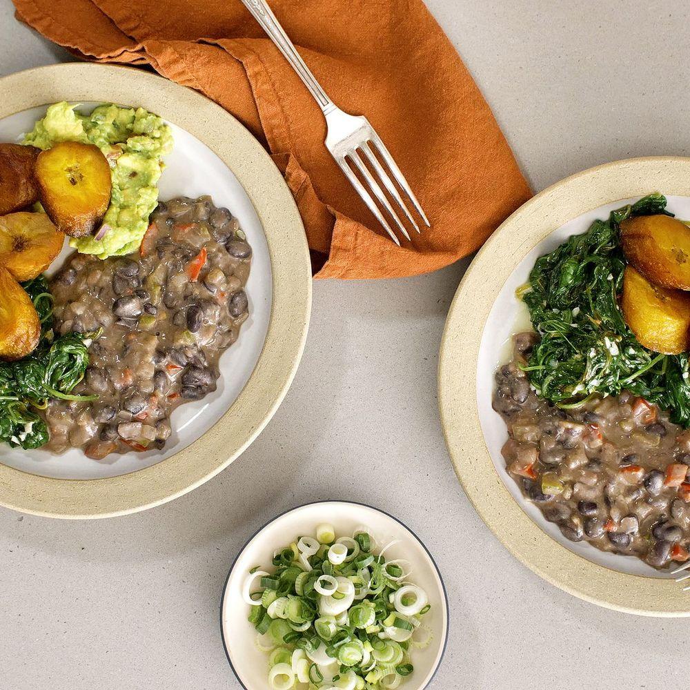 Coconut Black Beans Recipe | HeyFood — heyfoodapp.com