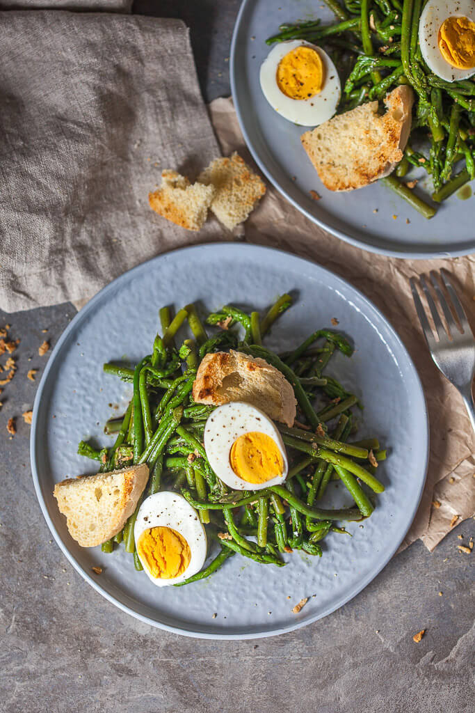 Wild Asparagus Salad Recipe | HeyFood — heyfoodapp.com