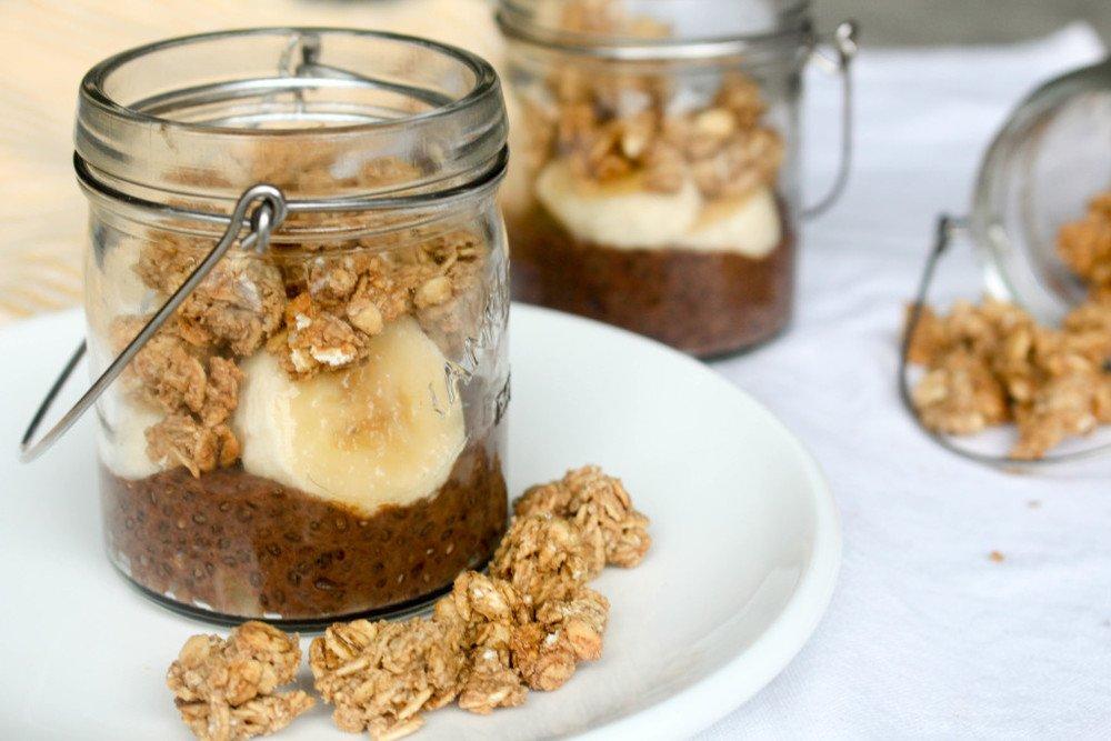 Maple Peanut Butter Granola Recipe   HeyFood — heyfoodapp.com