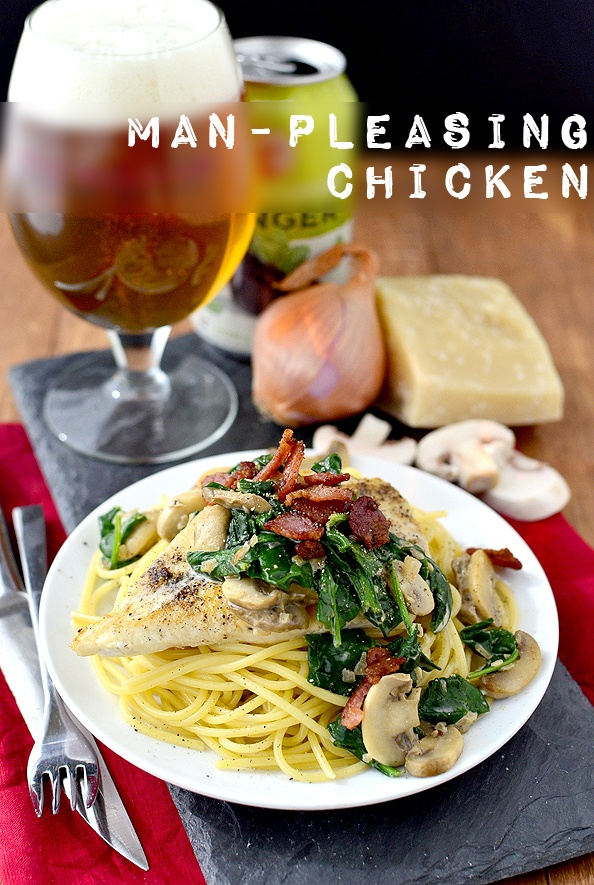 Man-Pleasing Chicken Recipe | HeyFood — heyfoodapp.com