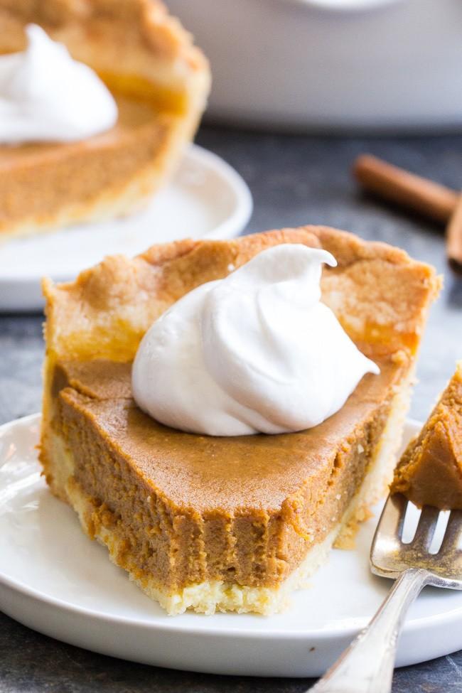 Classic Paleo Pumpkin Pie {with Crust Recipe} Recipe | HeyFood — heyfoodapp.com